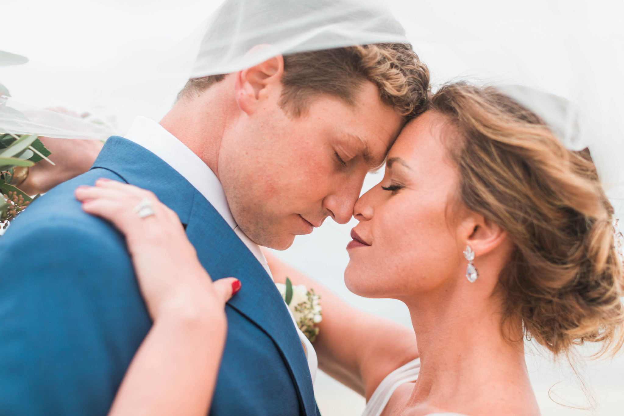 cape may nj bride and groom