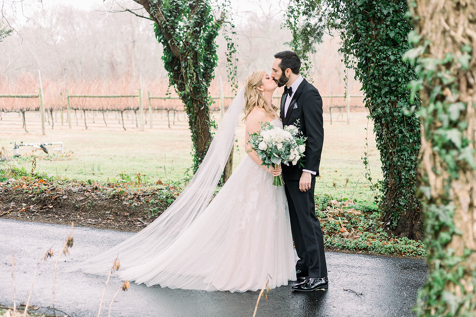 cape may nj willow creek winery wedding